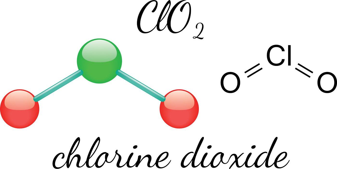Chlorine Dioxide in treating water