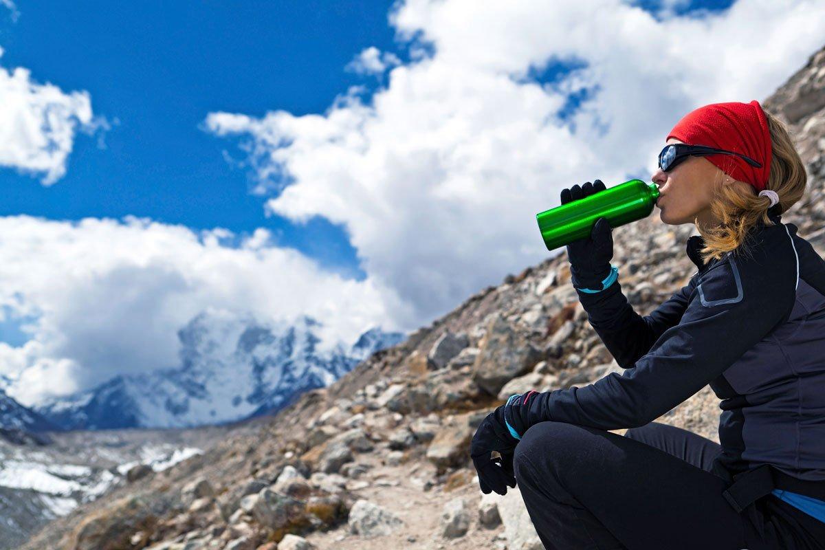Trekking Keep Hydrated